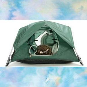 Tiny Tents Tiny Tent, Cats / Small Pets, Green
